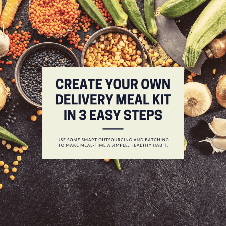 How To Create Your Own DIY Mealkit