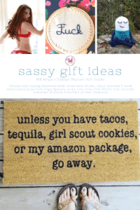 Guide to the best and sassiest gifts in Aggieland