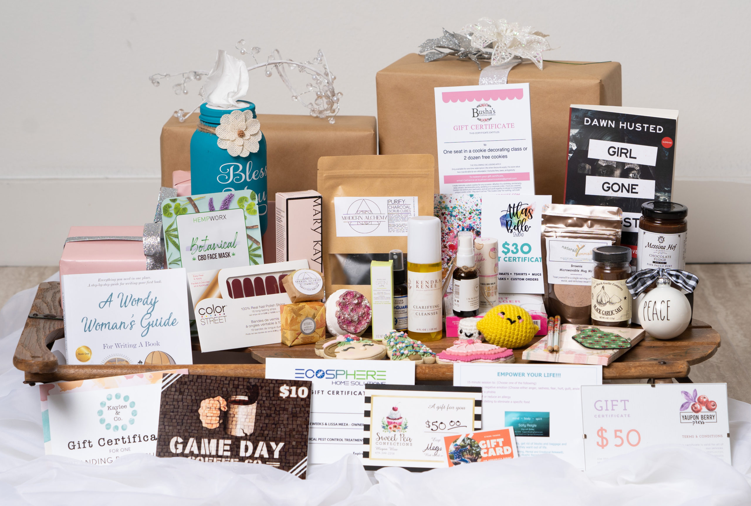 WE BCS Creates Holiday Boxes to Highlight Local Women Entrepreneurs And Help Boost Local Economy