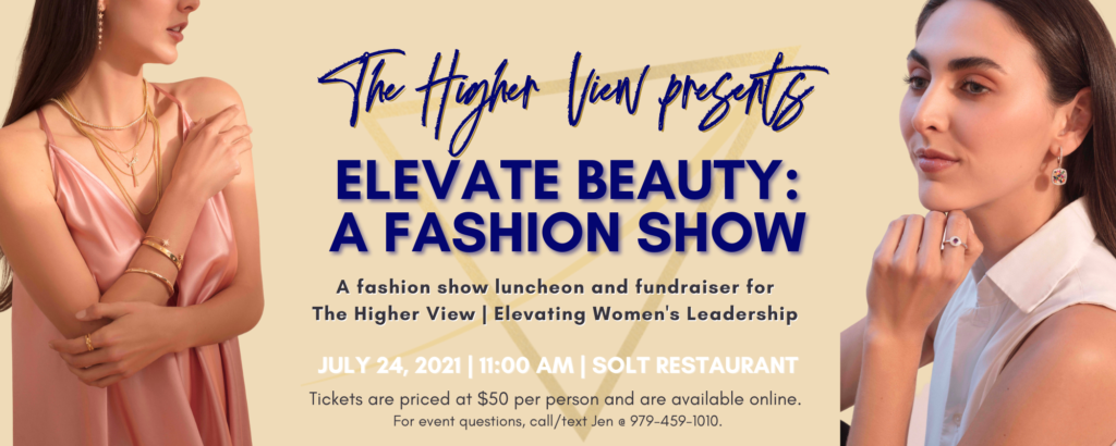 Fashion show flyer front
